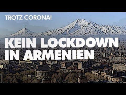 Trotz Corona! Kein Lockdown in Armenien