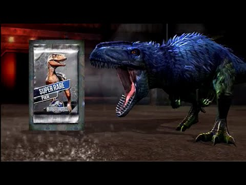 Jurassic World - Super Rare Battle Stage ∞ (Yutyrannus & Metriacanthosaurus) 20160316