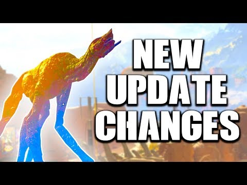 APEX LEGENDS NEW UPDATE CHANGES! LEVIATHANS ARE ON THE MOVE!