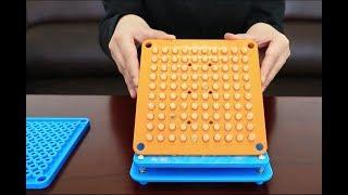 100 Holes Manual Capsule Filling Machine Pharmaceutical Capsule Maker Filler