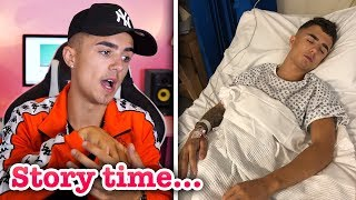 how i was JUMPED & ATTACKED in Ayia Napa. (STORY TIME)