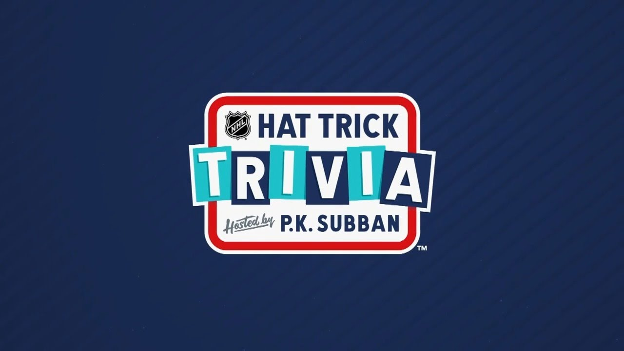 NHL Hat Trick Trivia, hosted by P.K. Subban: Episode 7