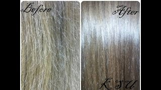 видео Горячее обертывание волос в домашних условиях