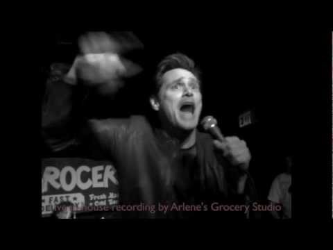 Jim Carrey sings 'I Started A Joke' at Arlene's Grocery with the Rock 'n' Roll Karaoke Band