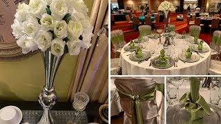 Coffee Filter Flower Event Topper & Table Settings