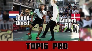 Jeand Doest vs Anders Fiil | TOP16 PRO, Pannahouse Invitationals 2017