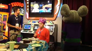 nico birthday chuck e cheese
