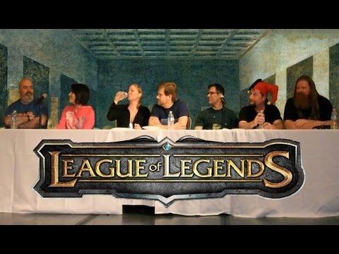 League of Legends Voice Actor Panel (complete 48 mins)