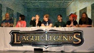 League ofends Voice Actor Panel (complete 48 mins)