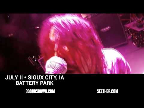 3 Doors Down & SEETHER | Summer Tour 2015