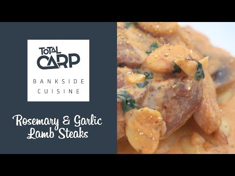 Bankside Cuisine - Rosemary & Garlic lamb steaks