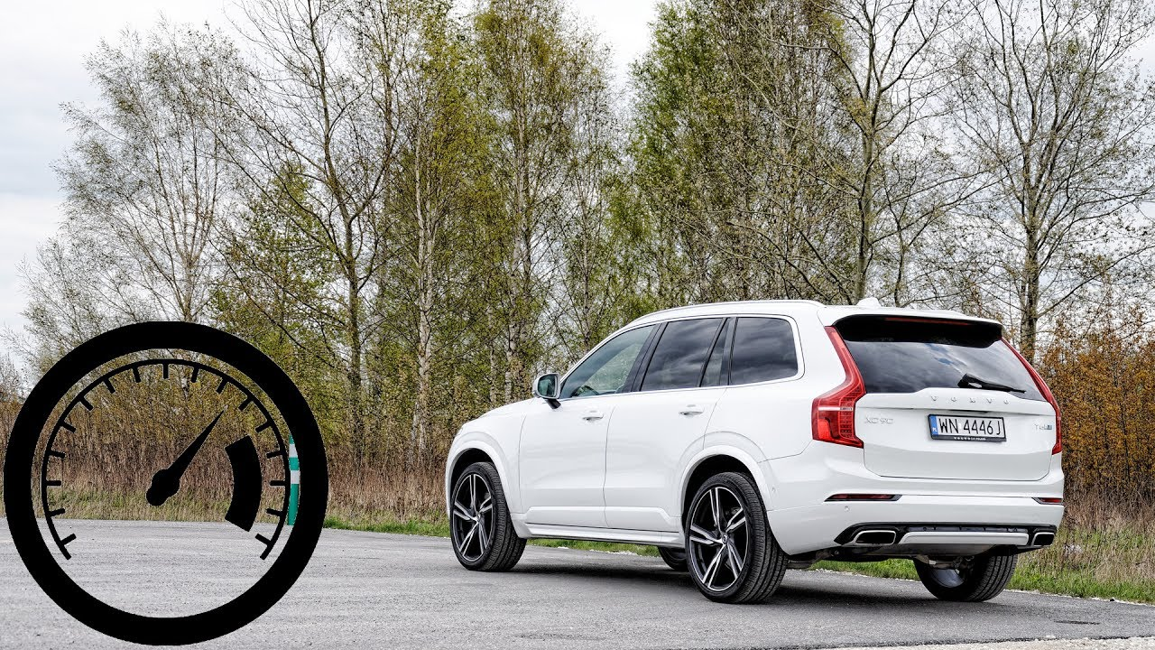 Volvo Xc90 T6 Awd Acceleration 0 100 Km H 200 1001cars