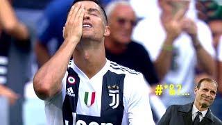 Cristiano Ronaldo Horrible Misses You Won't Believe