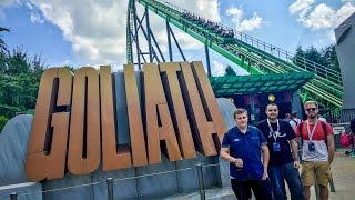 Testing Attractions - Walibi Holland 2016 #HARDGAAN 4K