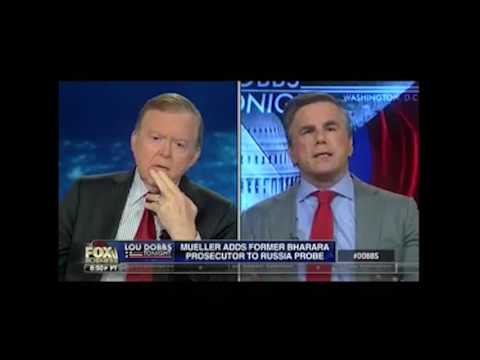 "Tom Fitton on ""Lou Dobbs Tonight"": Mueller is an ""Outlier Prosecutor,"" Not Accountable to Anyone"
