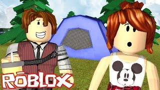 ROBLOX-ESCAPE FROM CAMP WITH CRIS MINEGIRL