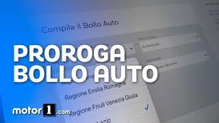 Un aggiornamento sulla situazione bollo auto in italia. la è continuo aggiornamento: ecco le regioni che hanno sospeso e prorogato il pagamento...