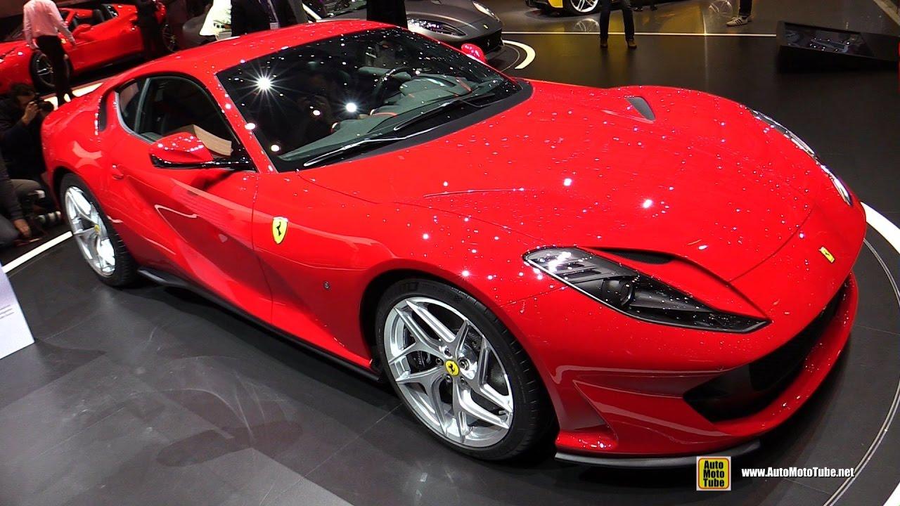 2018 ferrari 812 superfast interior.  812 2018 ferrari 812 superfast  exterior and interior walkaround debut at  2017 geneva motor show to ferrari superfast interior
