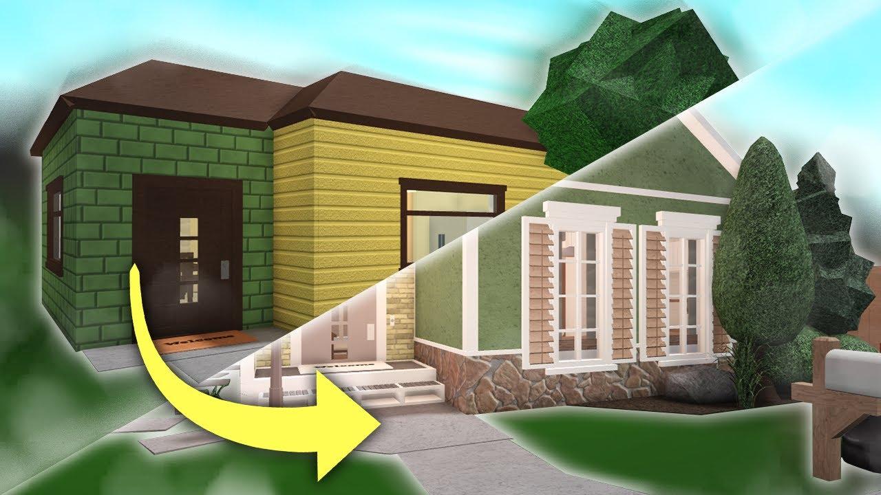 Roblox Bloxburg Family Home Anix I Renovated The Starter House In Bloxburg Youtube