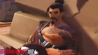 Overwatch Funny Moments 36 - Hanzo Gets Outplayed