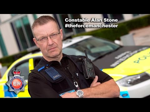 PC Alan Stone - The Force: Manchester