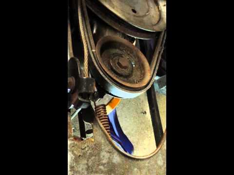 how to change oil in lawn mower troy bilt
