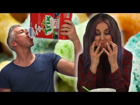 Irish People Try American Cereals