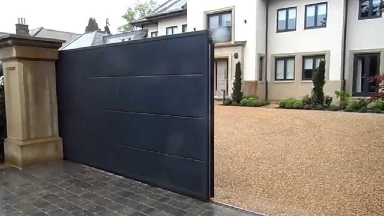 Steel Automated Sliding Gate Youtube