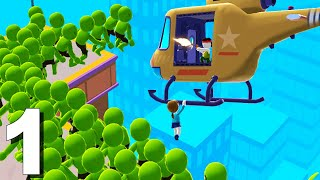 Helicopter Escape 3D (by SayGames) Gameplay Walkthrough Level 1-10 (Android) Part 1 screenshot 5
