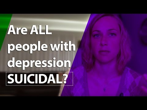Are ALL people with depression SUICIDAL?