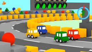 Fastest CARTOON CAR? - Kids Animation Cartoon - Learn Colors Cartoon with Cartoon Cars