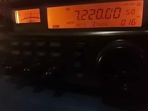 7220 kHz: Radio Voice of Vietnam, Hanoi VIETNAM