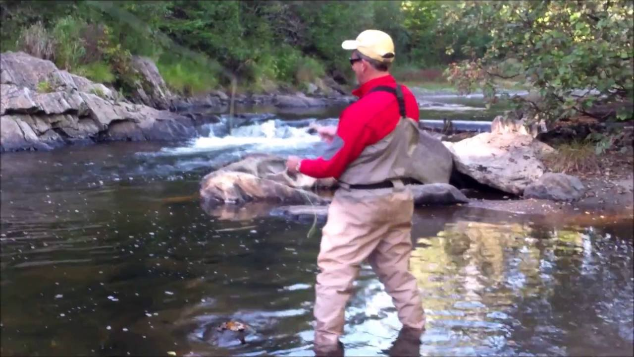 Fly Fishing the Great North Woods NH - Androscoggin River