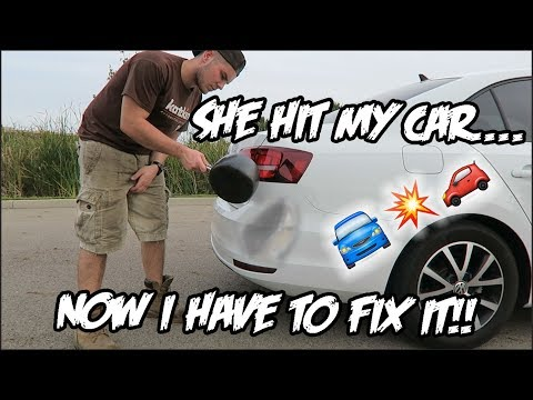 LIFE HACK: Fix Car Dents With BOILING WATER! *Easy*