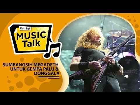 Megadeth Tanda Tangani Gitar Untuk Donasi Gempa Palu Mp3