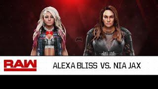 WWE 2K19 Alexa Bliss vs. Nia Jax