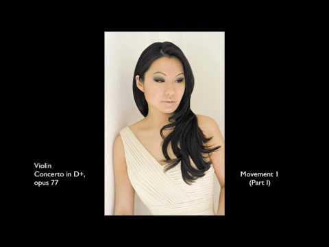 Sarah Chang: Brahms Concerto (Movement I, Part I)