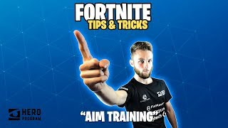 Fortnite Tips and Tricks: AIM TRAINING