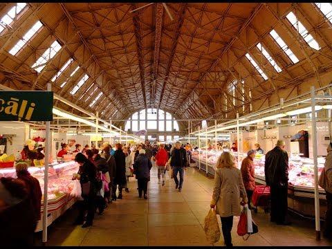 3 Baltic States & Deutschland Episode 8: Riga Central Market