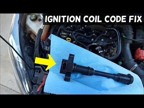 How to fix code P0351 P0352 P0353 P0354 Ignition Coil Engine Light
