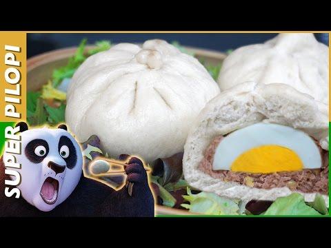 Kungfu Panda Dumplings (bollitos rellenos) con @cocinadelpirata - Receta