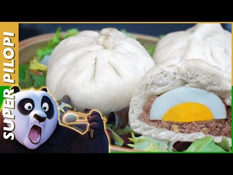 Kungfu Panda Dumplings (bollitos rellenos) - Receta
