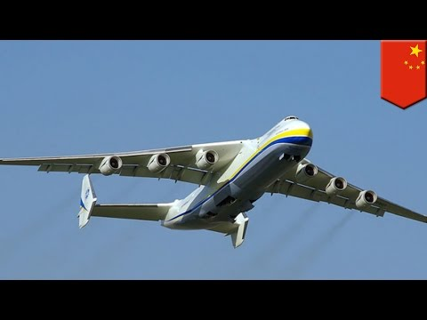 World's largest plane Antonov AN-225 to resume production - TomoNews