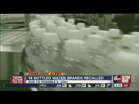 Niagara Bottling issues voluntary recall of 14 brands of bottled water