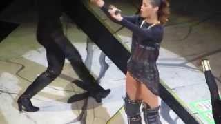 Rihanna Pour It Up and Cockiness (Love It) Live Diamonds Tour