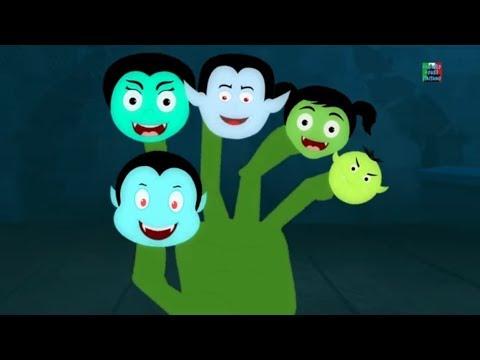 Vampiro dito famiglia rime spaventosi canzoni per bambini kids songs