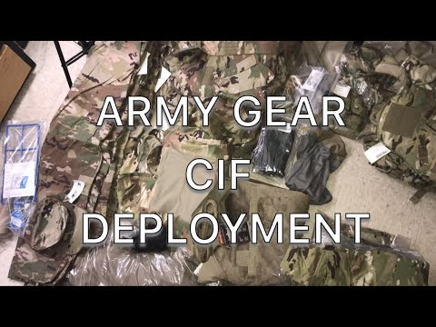 ARMY Deployment Gear | US ARMY CIF