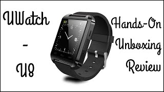 UWatch U8 Smartwatch - Hands-On | Unboxing | Review