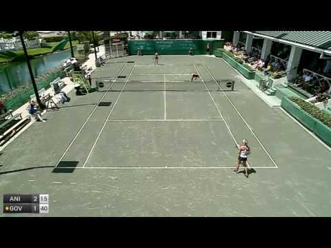 Anisimova Amanda v Govortsova Olga - 2017 ITF Indian Harbour Beach