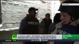 Exclusive: Syrian army vs ISIS skirmishes outside Damascus – frontline report